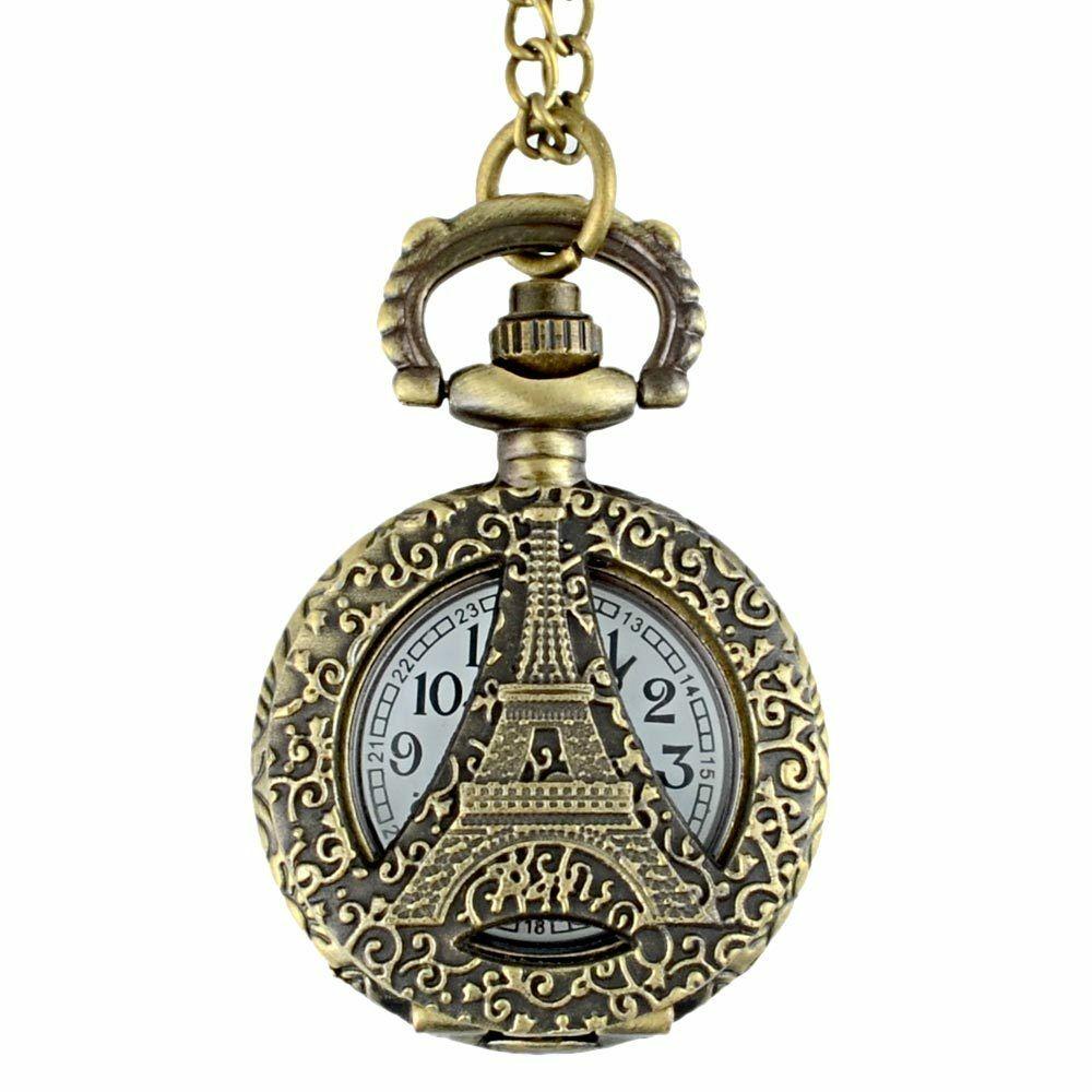ساعت گردنبندی عقربه ای کد paris29