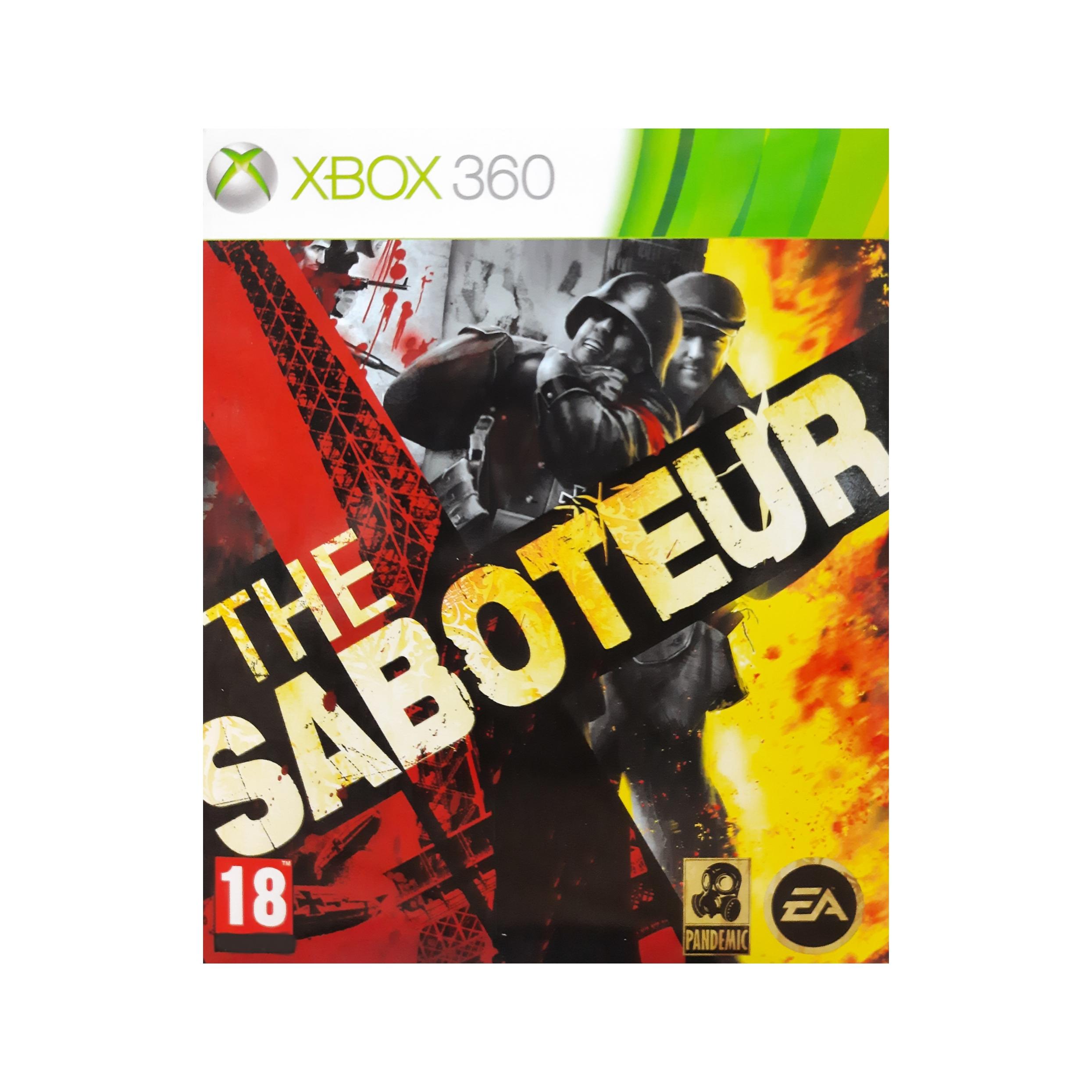 بررسی و {خرید با تخفیف}                                     بازی THE SABOTEUR مخصوص Xbox 360                             اصل