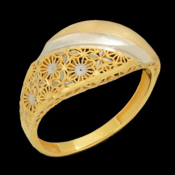 انگشتر طلا 18 عیار زنانه طلای مستجابی کد 670177