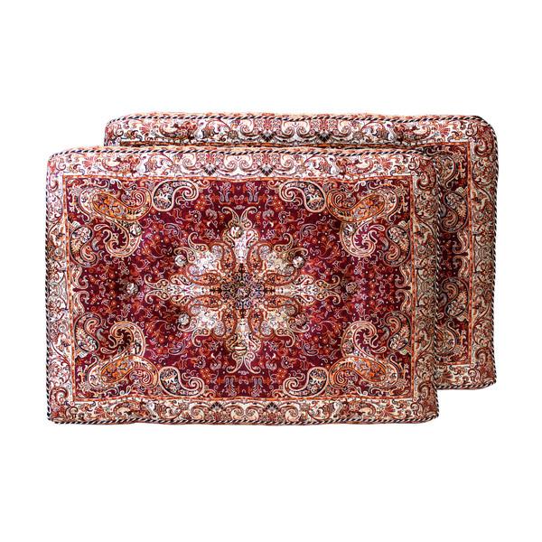 پشتی مدل  سنتی طرح قاجار کد 10074