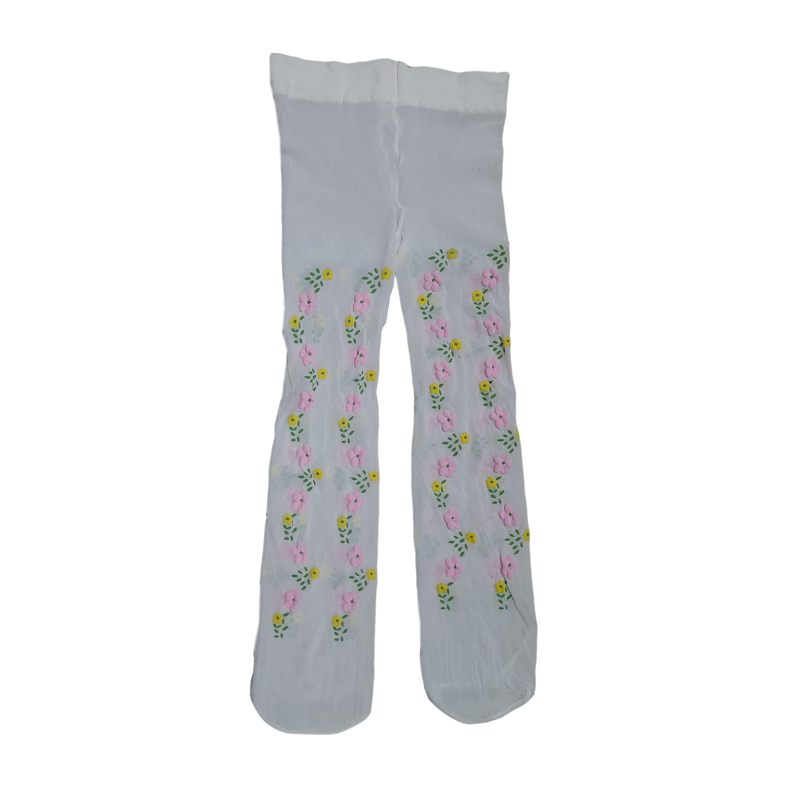 جوراب شلواری دخترانه دی مد مدل mod_17