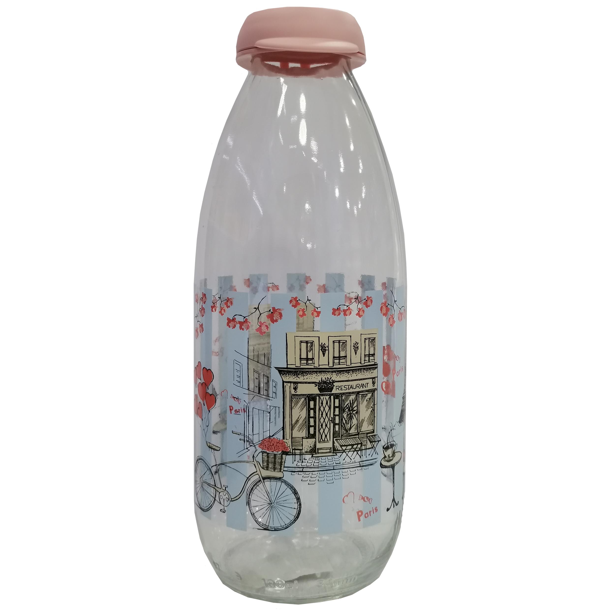 بطری شیر مدل پاریس