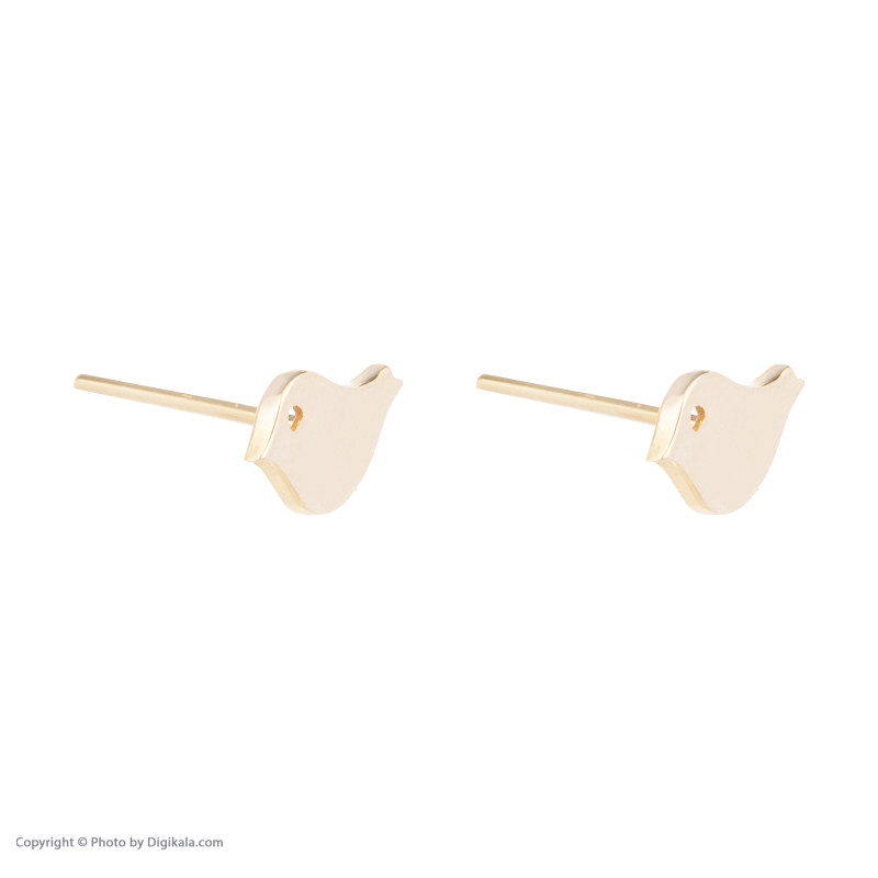 گوشواره طلا 18 عیار زنانه گالری روبی مدل 21096224