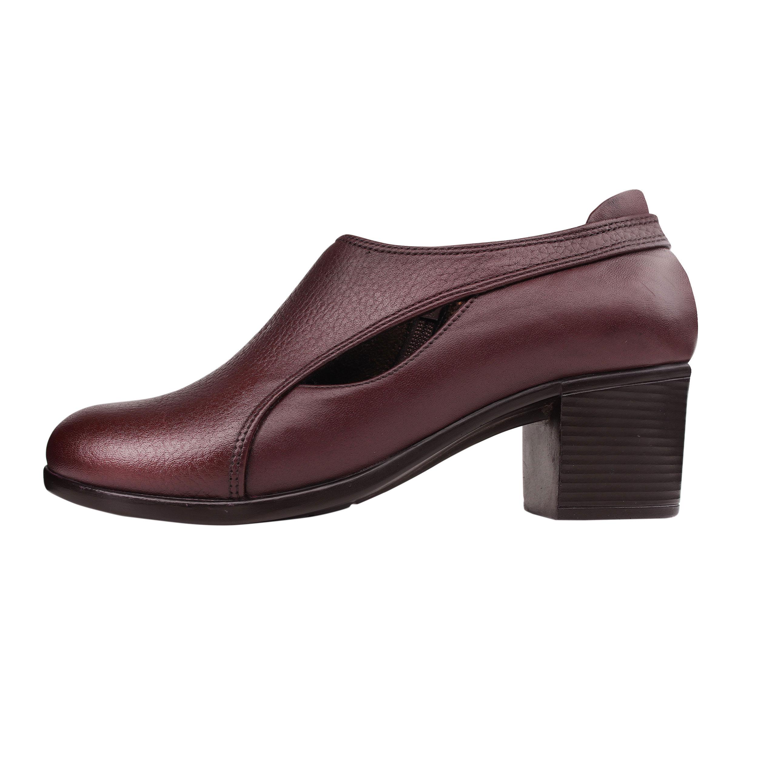 خرید                       کفش زنانه روشن مدل پیتون کد 22