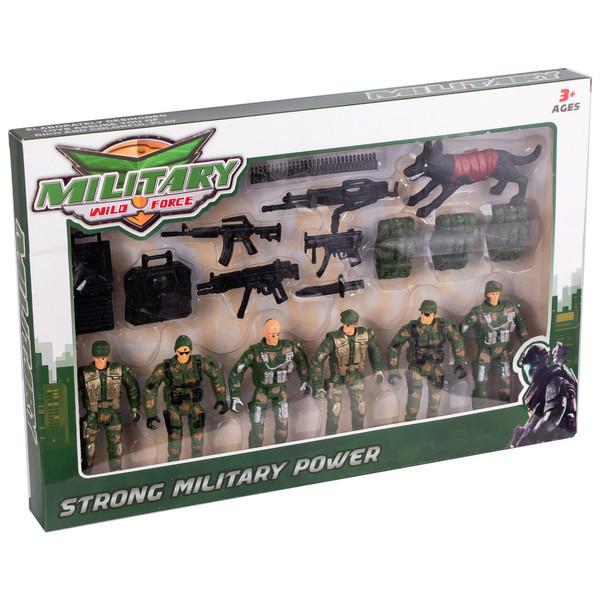 اسباب بازی جنگی مدل سرباز کد 0160 مجموعه 21 عددی