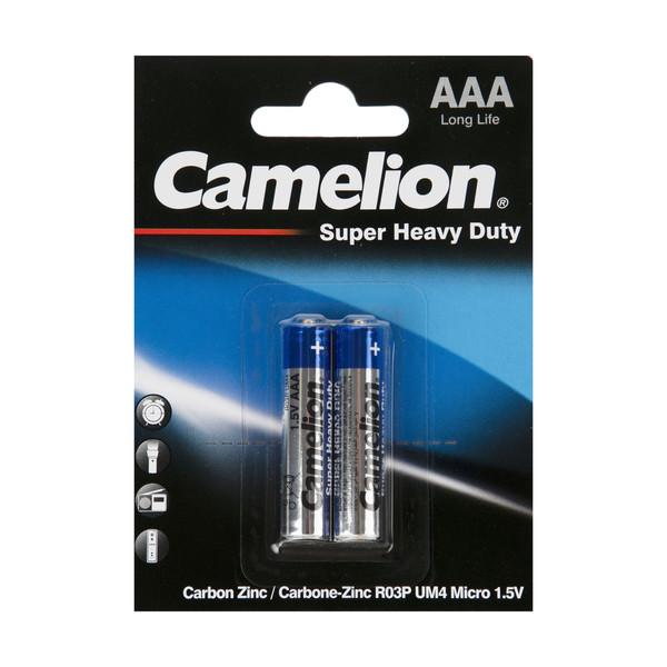 باتری نیم قلمی کملیون مدل Super HD بسته 2 عددی
