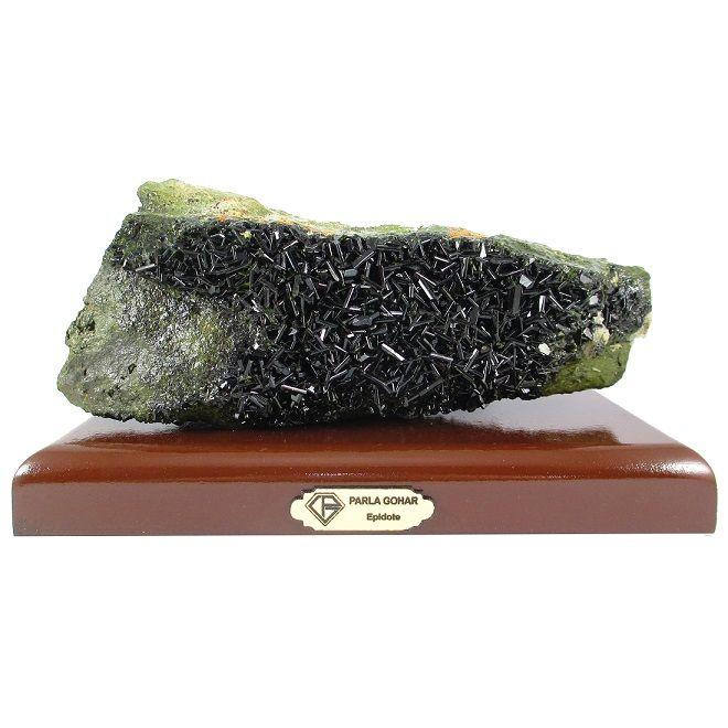 سنگ راف اپیدوت پارلا گوهر کد 2712