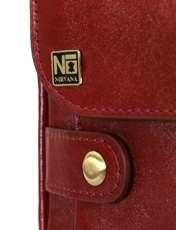 کیف دوشی چرم نیروانا کد 516 -  - 4