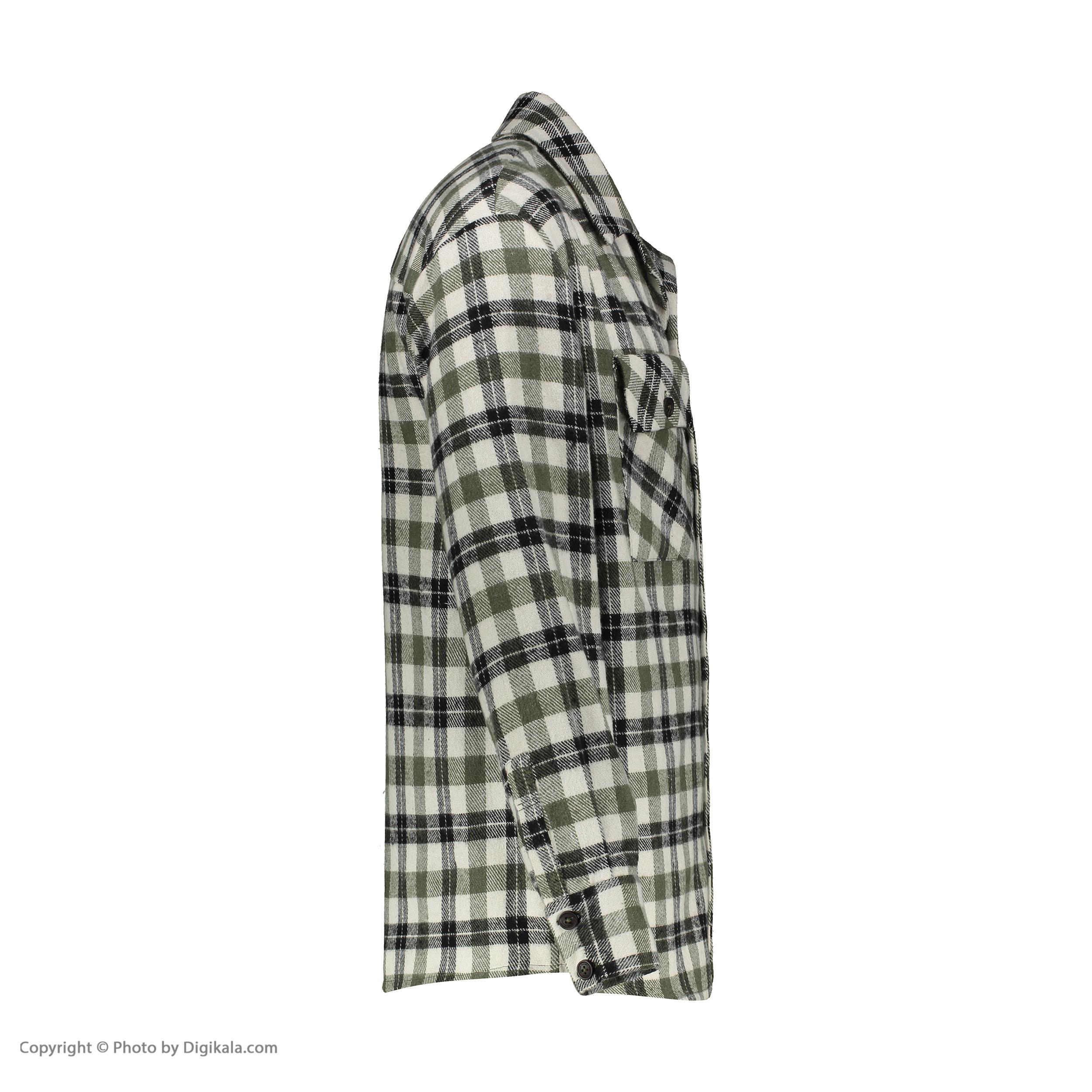 پیراهن مردانه گری مدل GW16