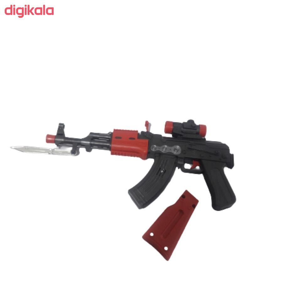 تفنگ بازی مدل مسلسل دوربین دار کد BKH18 main 1 4