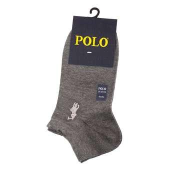 جوراب مردانه مدل P-2020 رنگ طوسی تیره