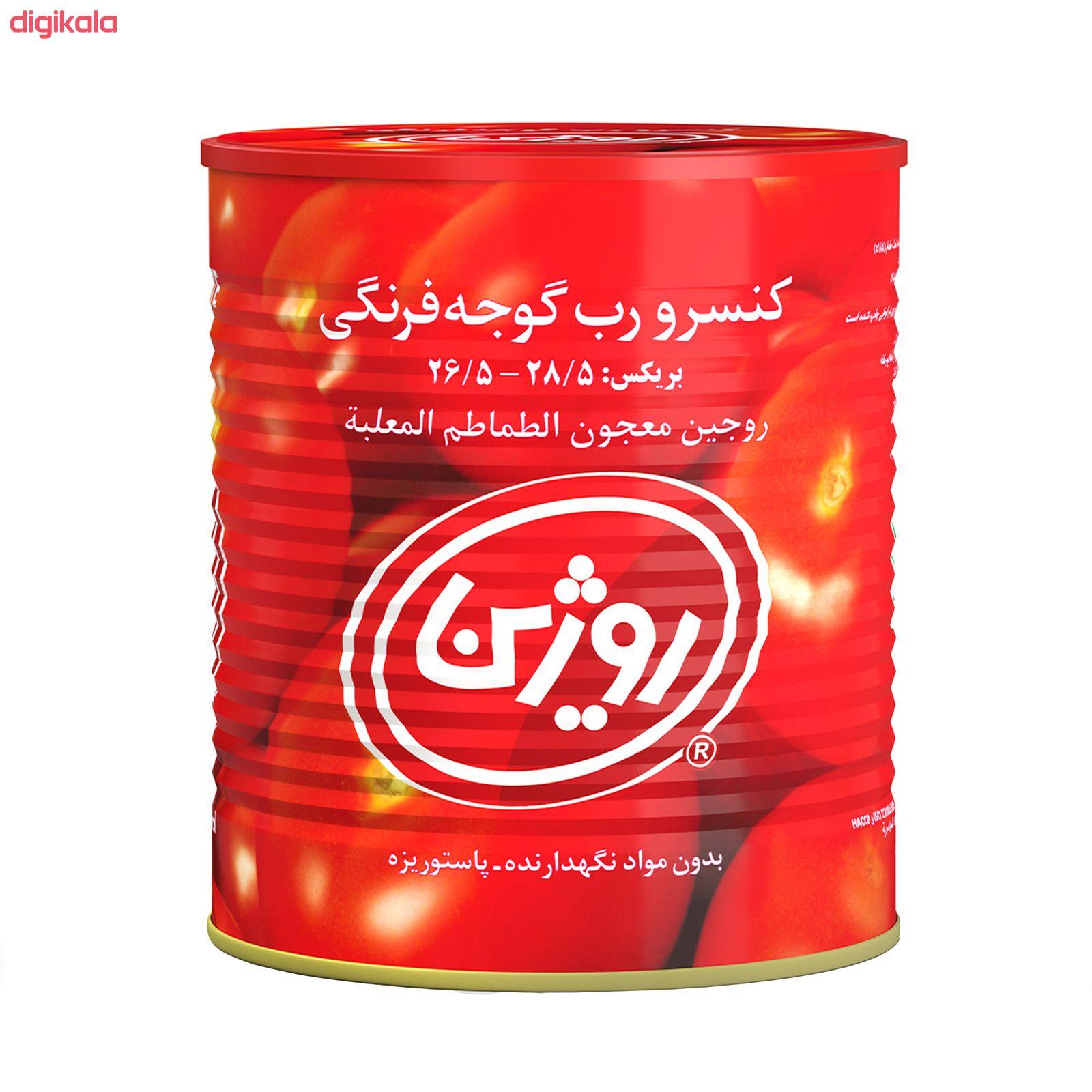 رب گوجه فرنگی روژین مقدار 800 گرم  main 1 3