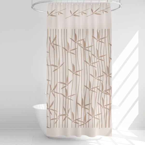 پرده حمام آرمیتا کد W050 سایز 180 × 200 سانتی متر
