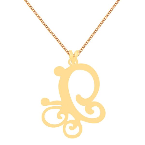 گردنبند طلا 18 عیار زنانه کرابو طرح پروانه مدل Kr70821