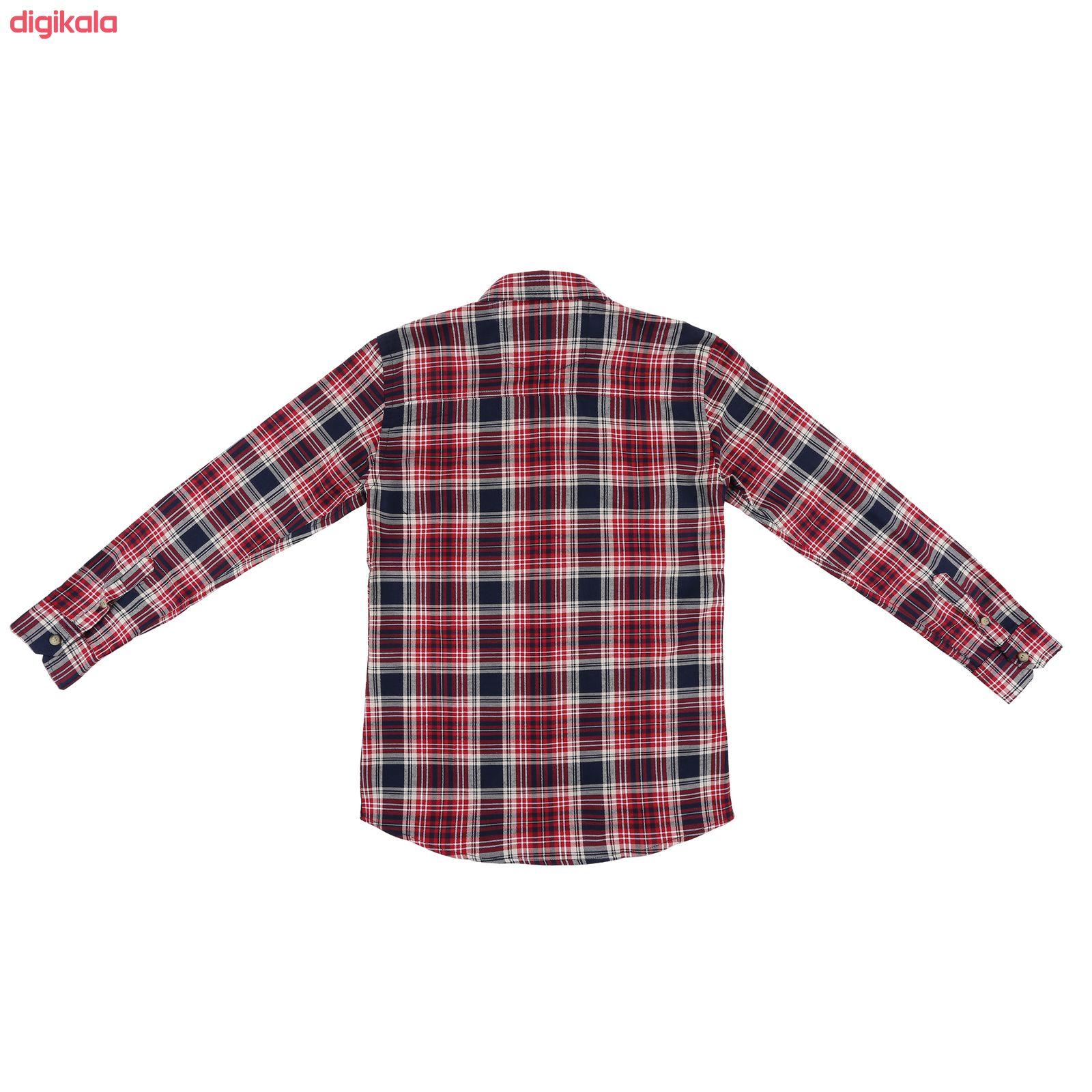 پیراهن پسرانه ناوالس کد R-20119-RD main 1 2