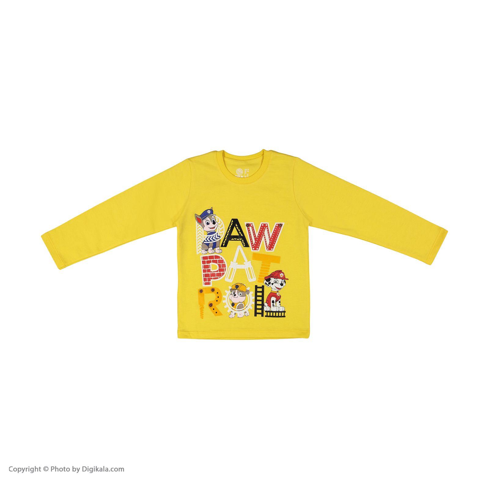تی شرت پسرانه سون پون مدل 1391364-16 -  - 3