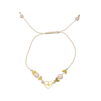دستبند طلا 18 عیار زنانه آلند کد TD121