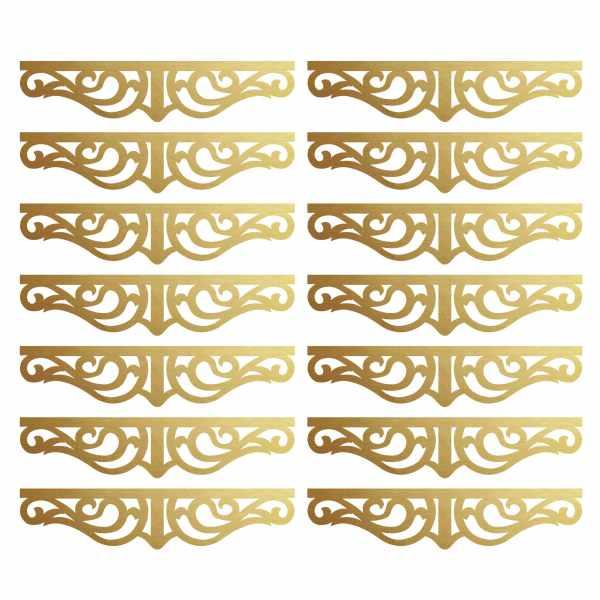 استیکر کلید و پریز مدل 01 بسته 14 عددی