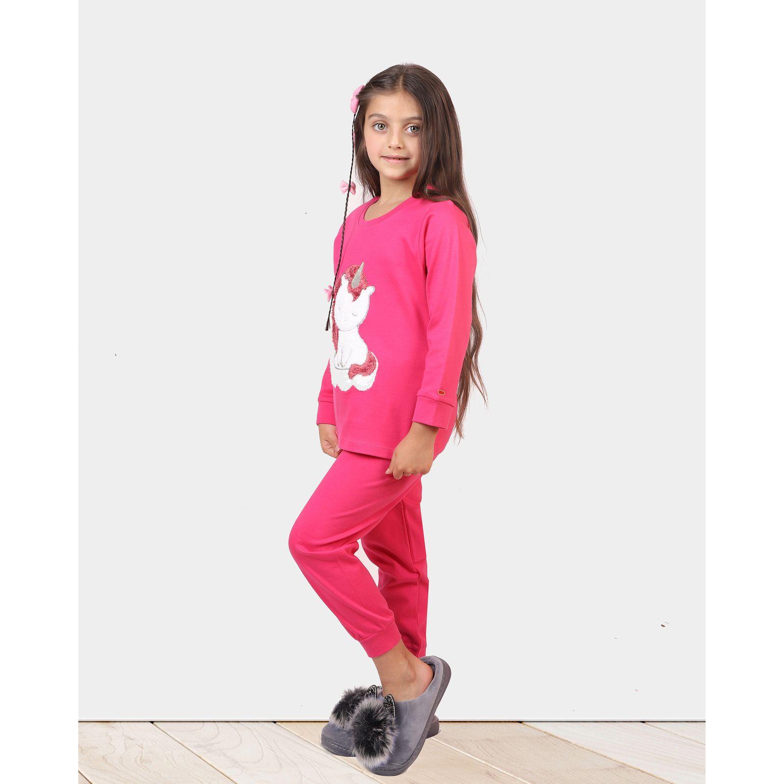 ست تی شرت و شلوار دخترانه مادر مدل 303-66 main 1 11