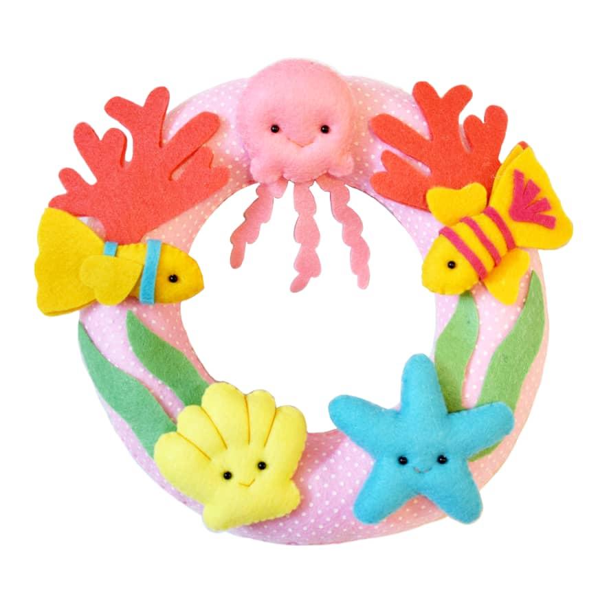 دیوار کوب اتاق کودک مدل حیوانات دریایی