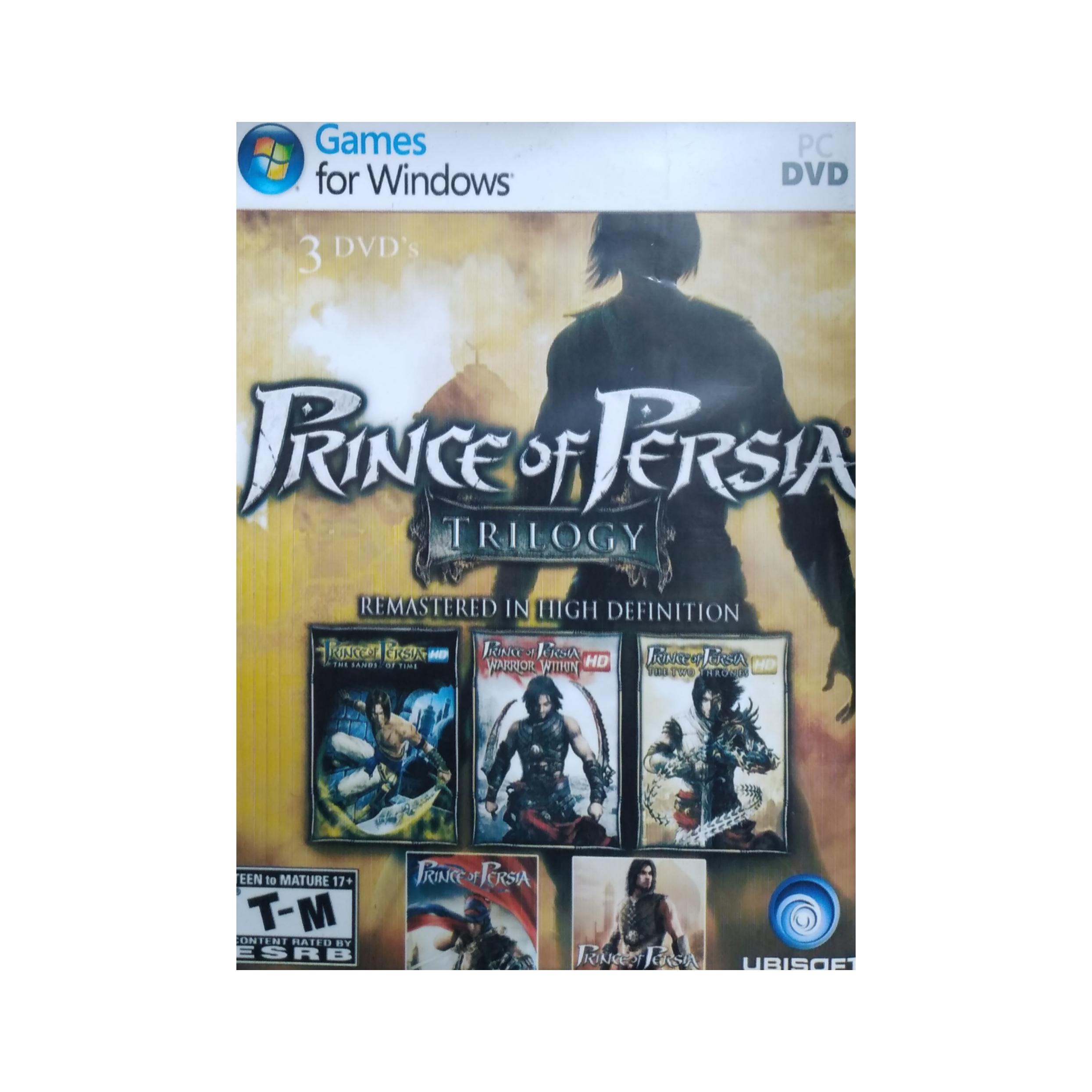 بازی PRINCE OF PERSIA مخصوص PC