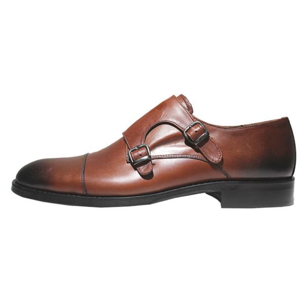 کفش مردانه چرم آرا مدل sh026 کد as