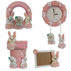 ست تزئینات کودک طرح خرگوش کد 105