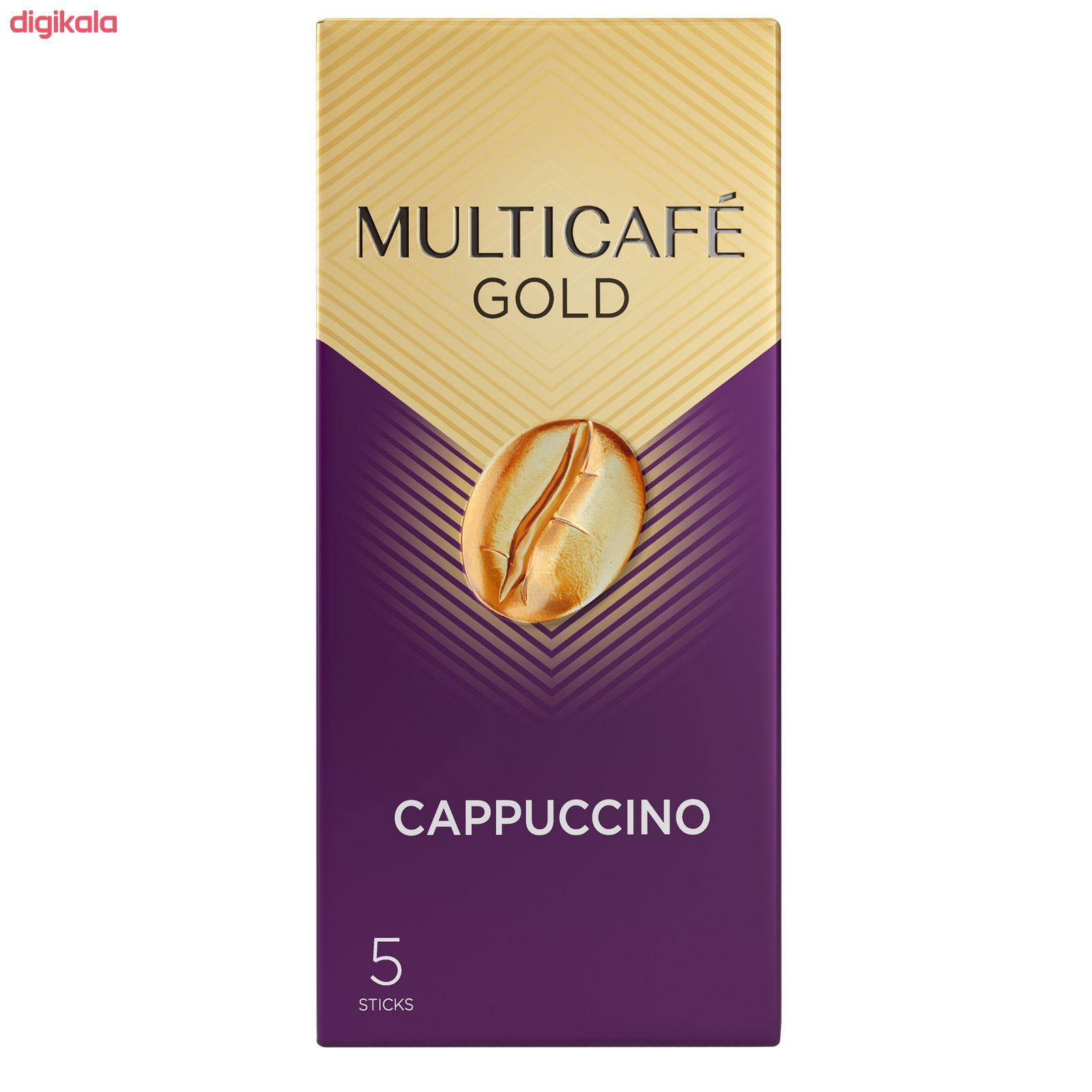 کاپوچینو گلد مولتی کافه بسته 5 عددی  main 1 4