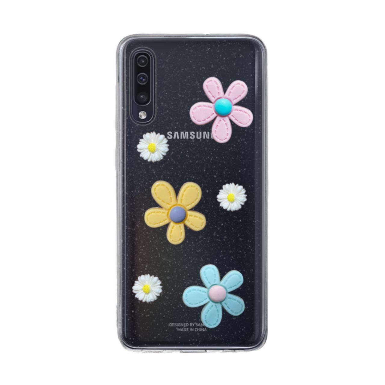 کاور دکین طرح گل مدل Fanzyمناسب برای گوشی موبایل سامسونگGalaxy A50 /A30s / A50s