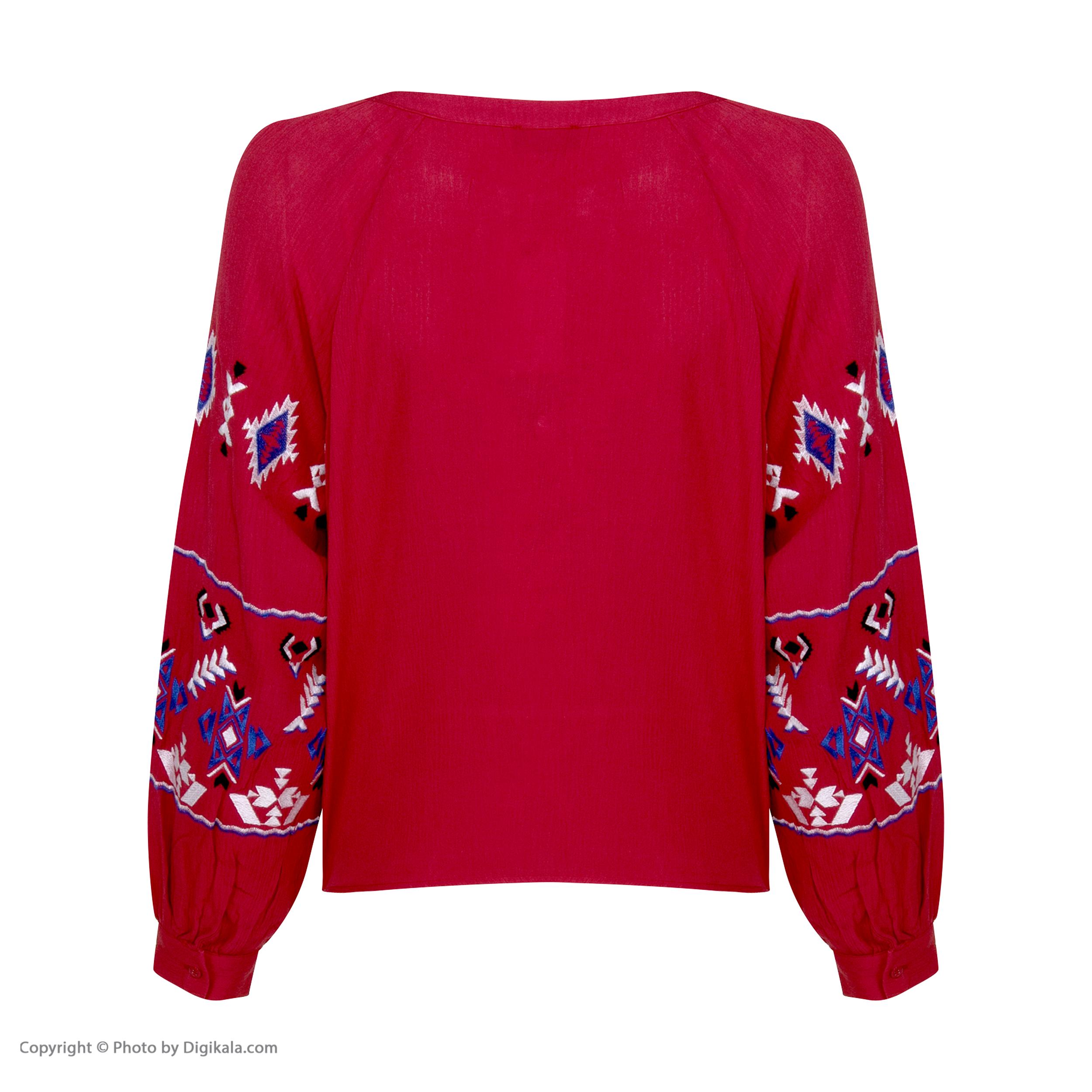 خرید                                      بلوز زنانه کالینز مدل CL1034029-RED