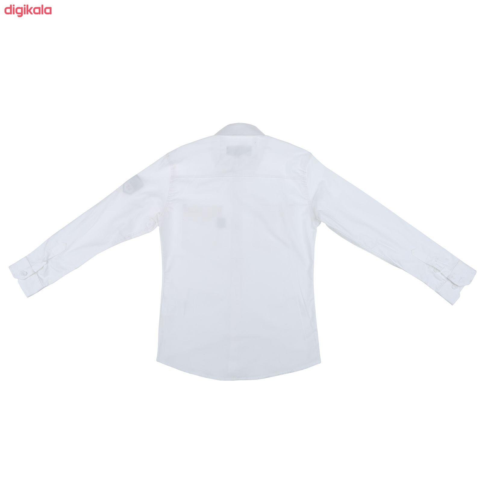 پیراهن پسرانه ناوالس کد 20119-WH main 1 1