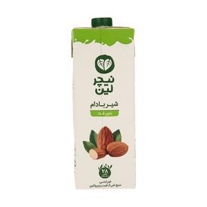 شیر بادام غیر لبنی بدون قند نیچر لین - 1 لیتر