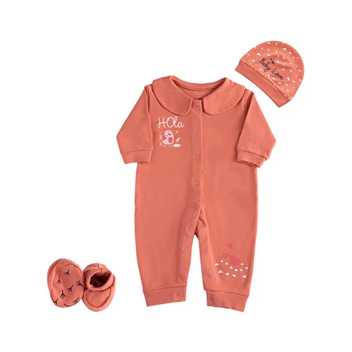 ست 3 تکه لباس نوزادی بی سی سی مدل Little bird