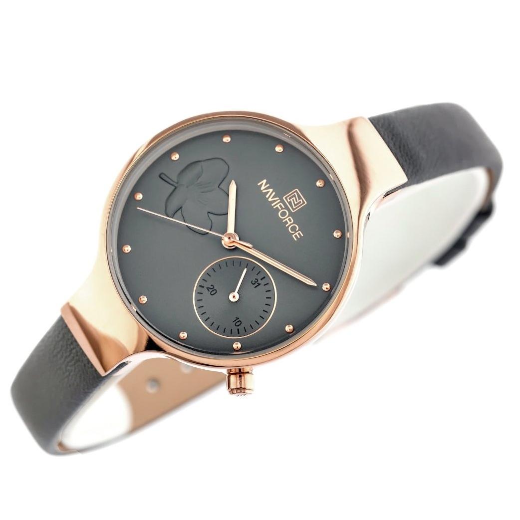 ساعت مچی عقربه ای زنانه نیوی فورس مدل nf5001-rggygy              خرید (⭐️⭐️⭐️)