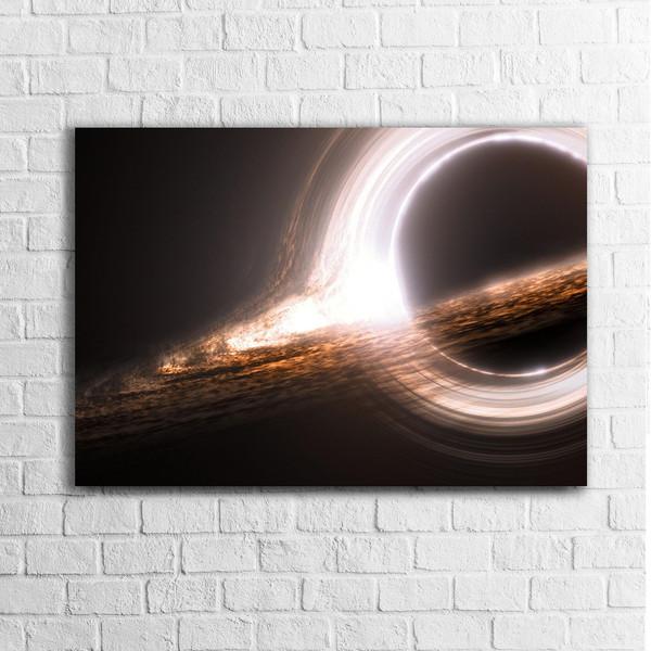 تابلو شاسی مدل AT050 طرح سیاه چاله