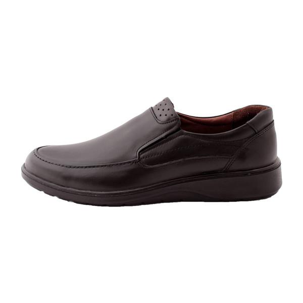 کفش روزمره مردانه ساینا چرم مدل لارتناس