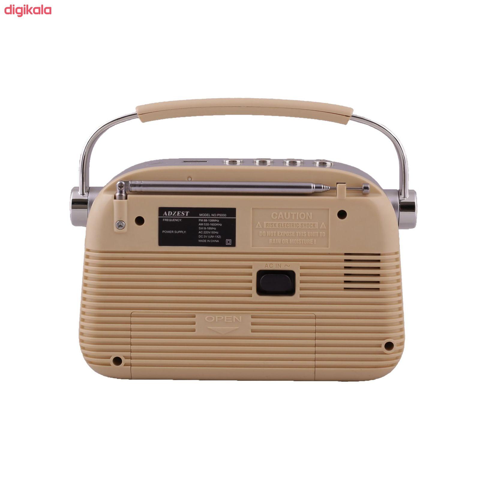 رادیو آدزست مدل P5000 main 1 1