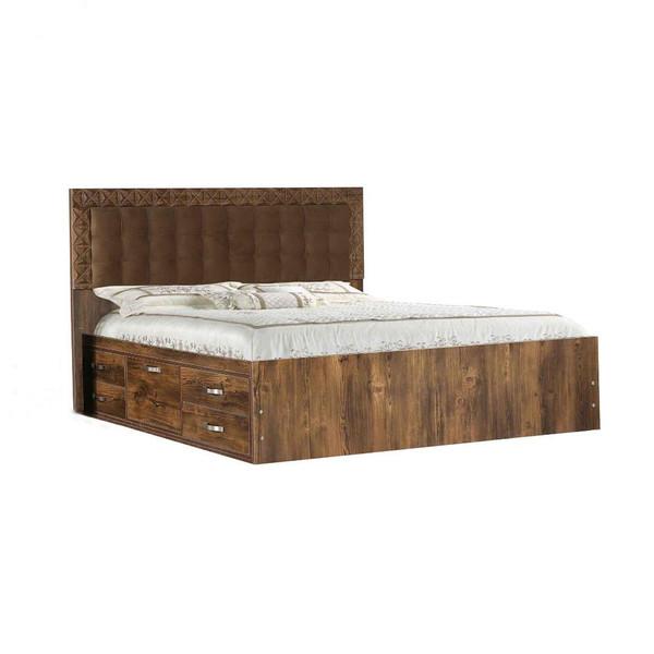 تخت خواب دو نفره کد 206 سایز 160×200 سانتی متر