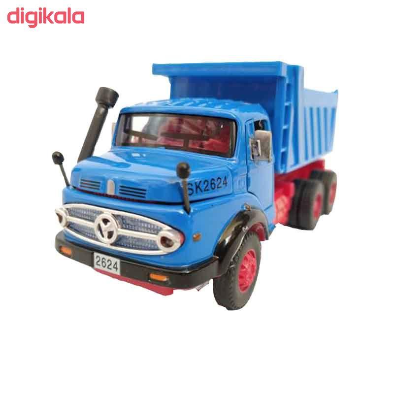 ماشین بازی طرح کامیون مدل بنز main 1 2