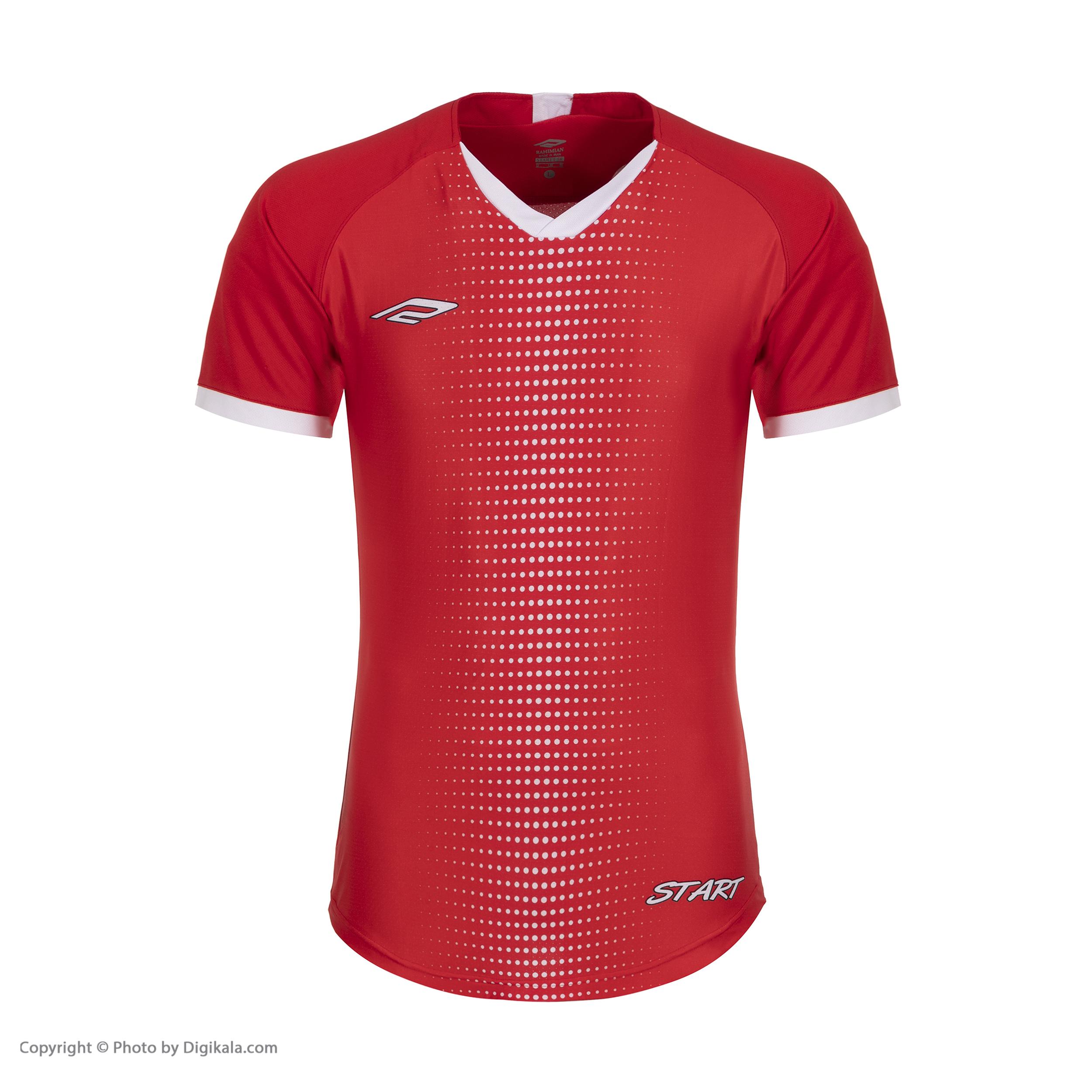 ست پیراهن و شورت ورزشی مردانه استارت مدل FC1003-7