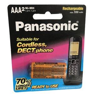 باتری تلفن بی سیم پاناسونیک  مدل NI-MH بسته دو عددی