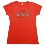 تی شرت زنانه کد Tsh6B thumb
