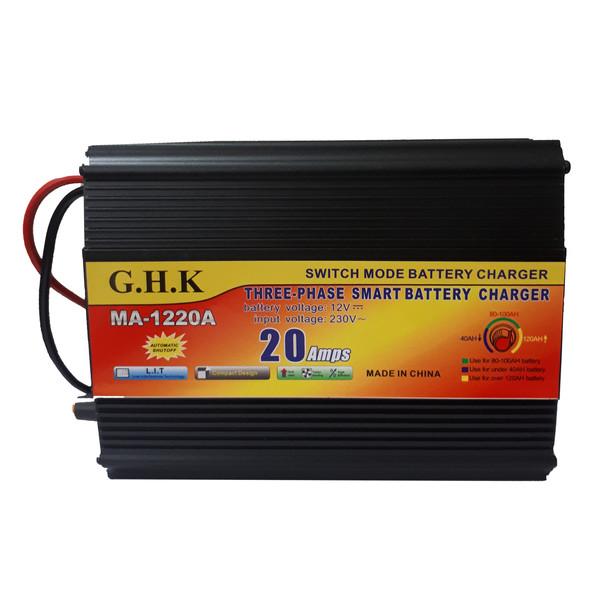 شارژر باتری خودرو جی اچ کا مدل G-06