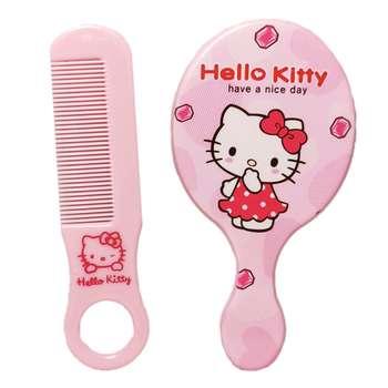 ست شانه مو و آینه آرایشی کد 2