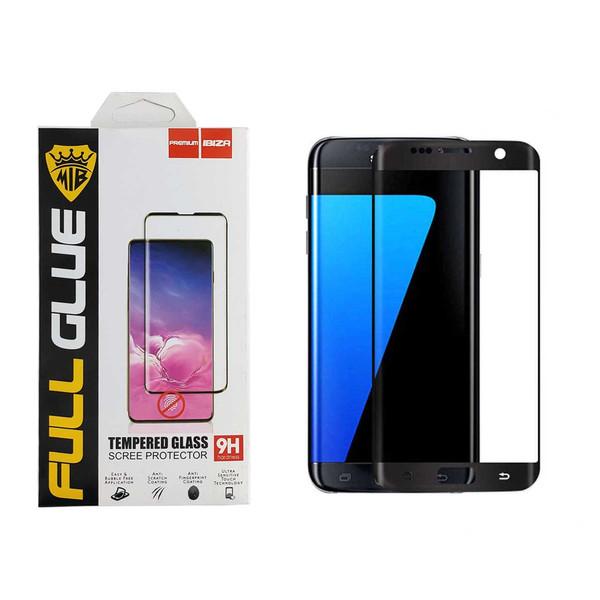 محافظ صفحه نمایش 6D ایبیزا مدل A-40 مناسب برای گوشی موبایل سامسونگ Galaxy S7 Edge