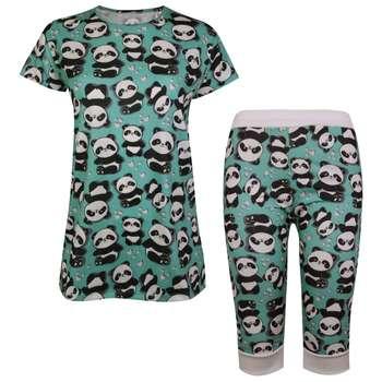 ست تی شرت و شلوارک زنانه ماییلدا مدل 3586-6