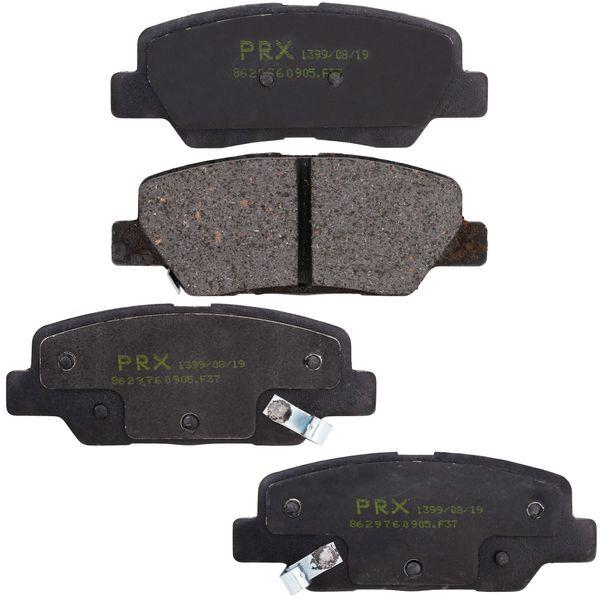 لنت ترمز عقب پی آر ایکس مدل BPB133_RR مناسب برای پژو 206