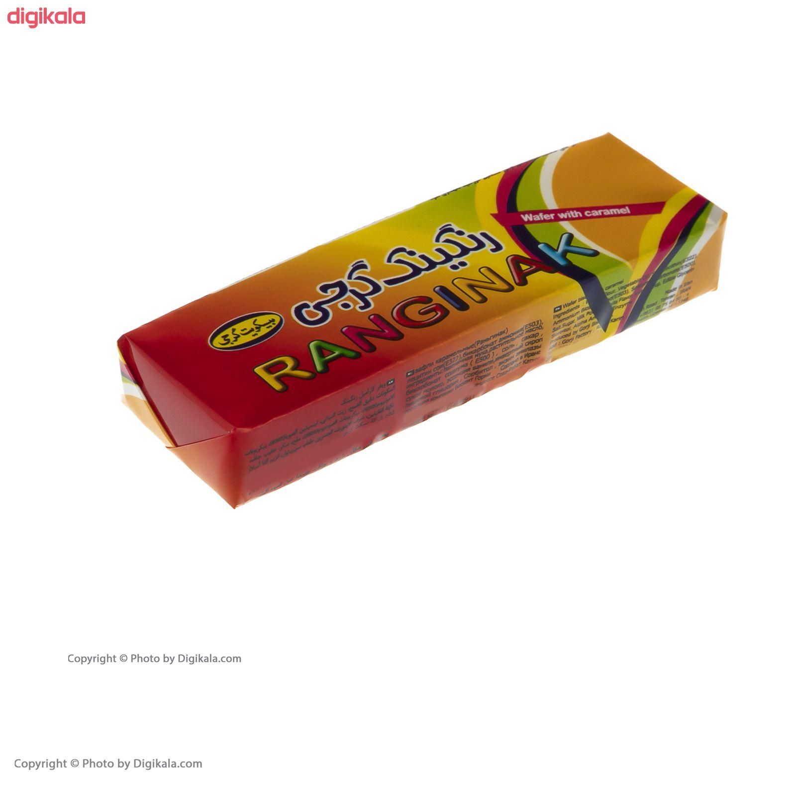 ویفر رنگینک گرجی مقدار 525 گرم بسته ۳۵ عددی main 1 5