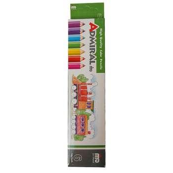 مداد رنگی 6 رنگ ادمیرال کد 15