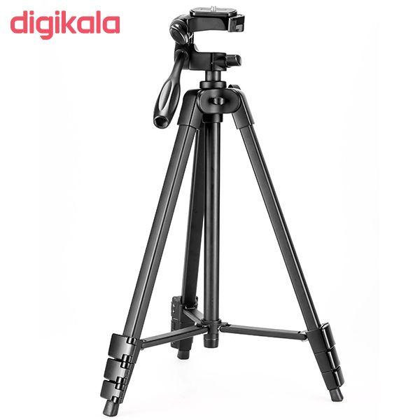 سه پایه دوربین نست مدل NT-510 به همراه گیره نگهدارنده موبایل main 1 13